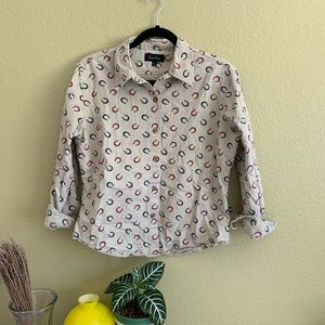 Cotton cowgirl button up